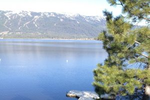 Mountain scenery in Idaho