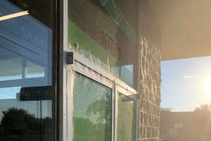 Dirty windows on business